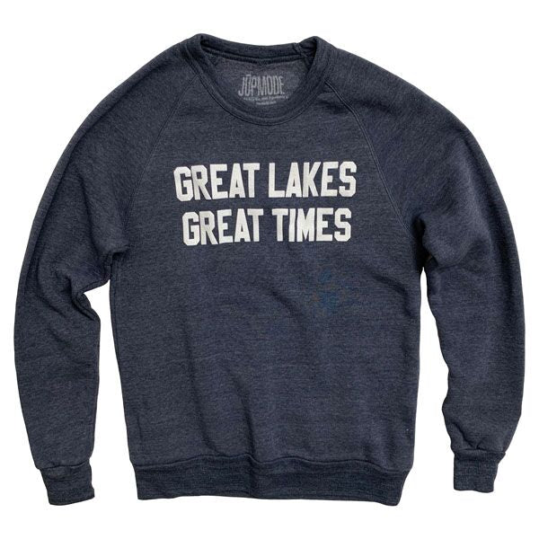 Great Lakes Great Times Crew Sweatshirt - Jupmode