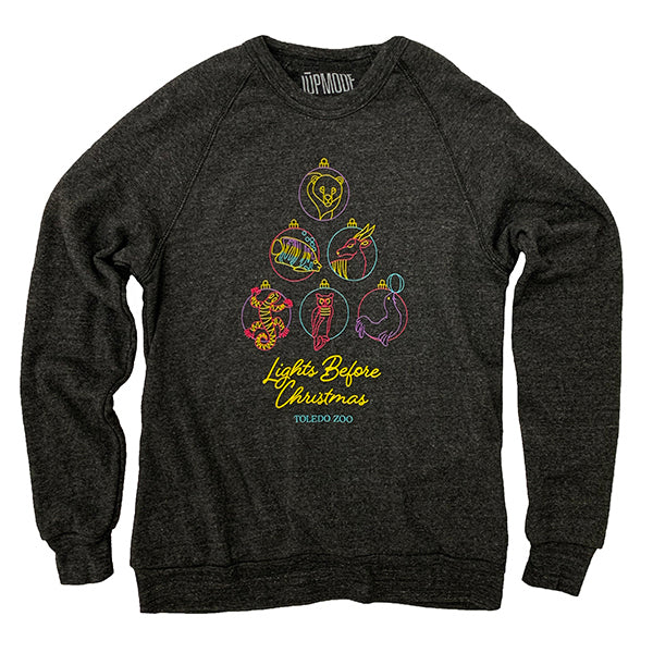 Toledo Zoo Lights Before Christmas Crew Sweatshirt