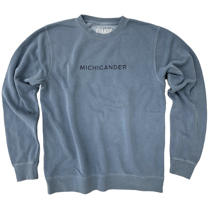 Michigander Embroidered Sweatshirt - Jupmode