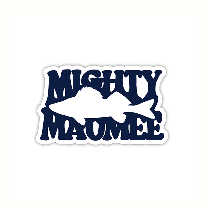 3-Pack Mighty Maumee Sticker
