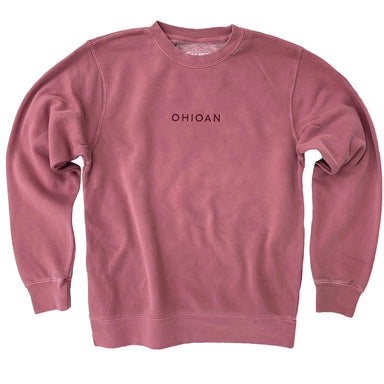 Ohioan Embroidered Sweatshirt
