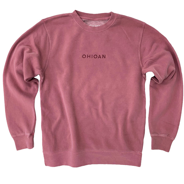 Ohioan Embroidered Crew