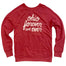 Ohio Forever and Ever Red Crew Sweatshirt