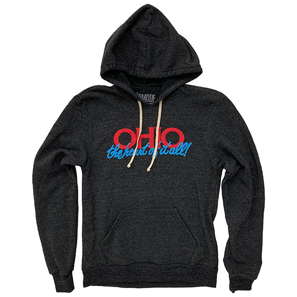 Ohio the Heart of it All Hoodie
