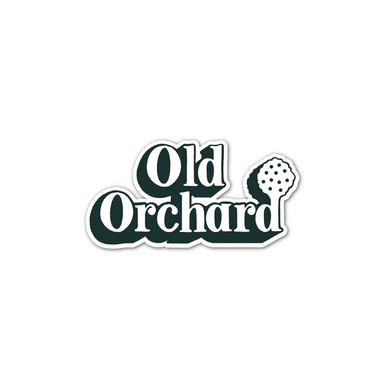 Old Orchard Sticker - Jupmode