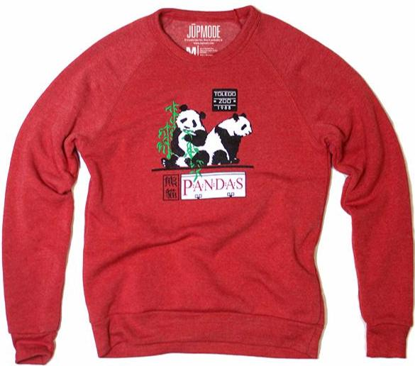 Toledo Zoo 1988 Panda Exhibit Crew Sweatshirt
