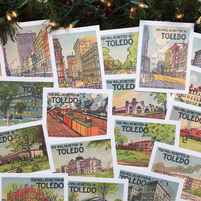Better in Toledo Postcard Pack - Jupmode
