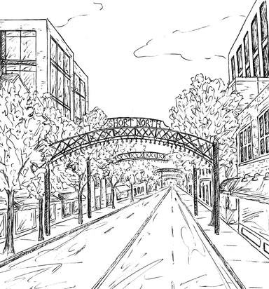 The Columbus, Ohio Coloring Book - Jupmode
