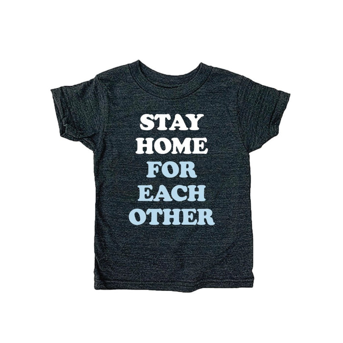Stay Home for Each Other Youth Shirt - Jupmode