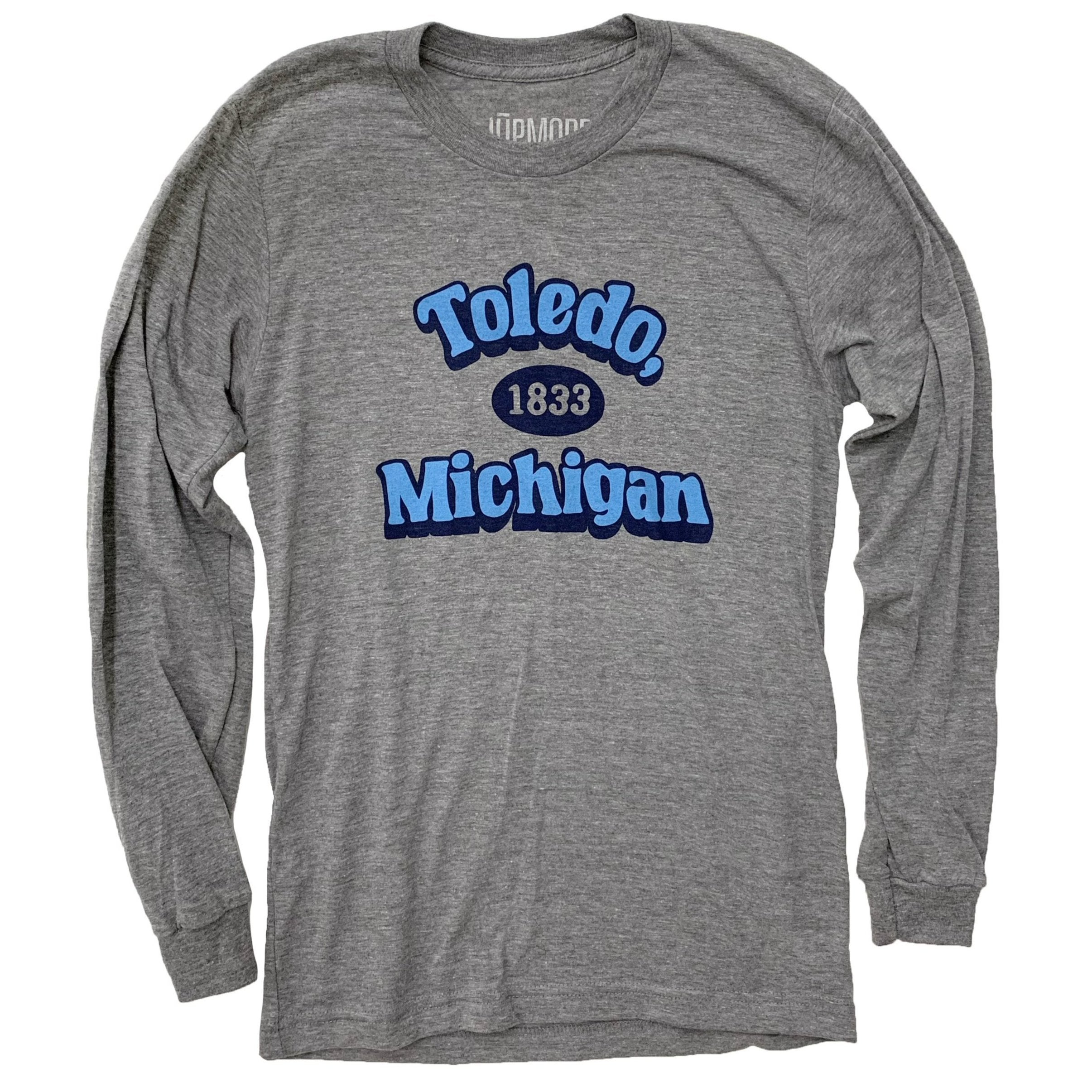 Toledo Michigan 1833 Long Sleeve