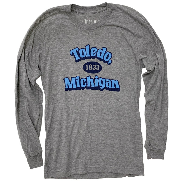 Toledo Michigan 1833 Long Sleeve - Jupmode