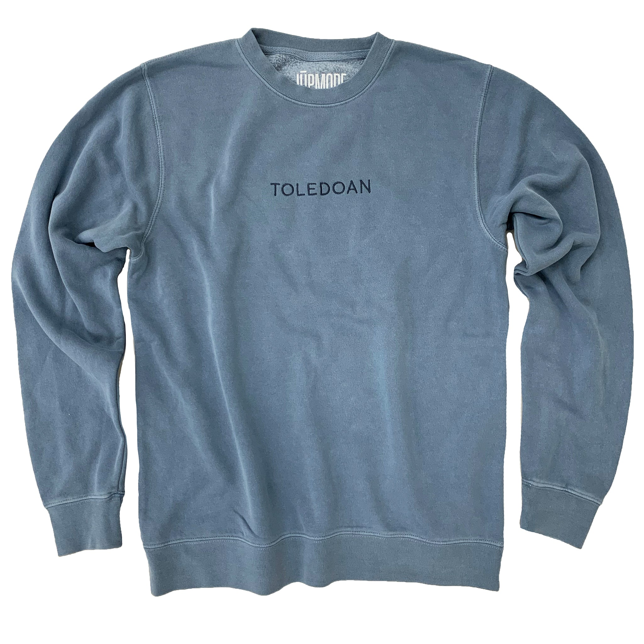 Toledoan Embroidered Crew