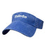 Blue visor with white embroidered Toledo in center