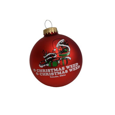 Toledo Christmas Weed Ornament