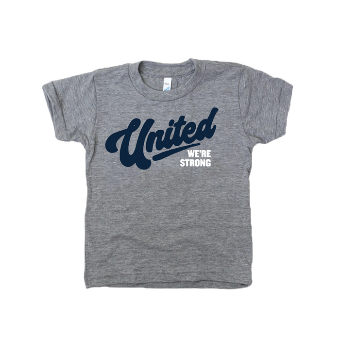 United We're Strong Youth Community Shirt - Jupmode