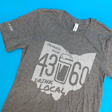 inside the five brewery t-shirt