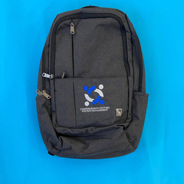 custom embroidered backpack for comprehensive centeres for pain management