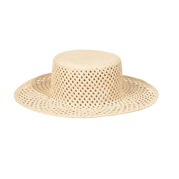 Artesano Bari Hat - Natural