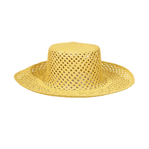 Artesano Bari Hat - Yellow