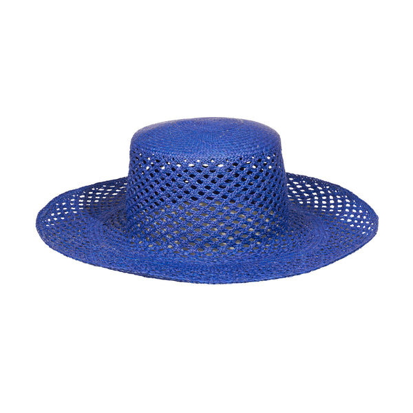 Artesano Bari Hat - Electric Blue