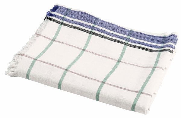 Le cerise sur le gateau Beach Sheet Indigo Check