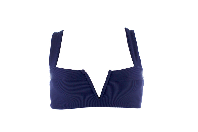 L*Space Lee Lee Bikini Top Colour Midnight Blue from BEACHKIND