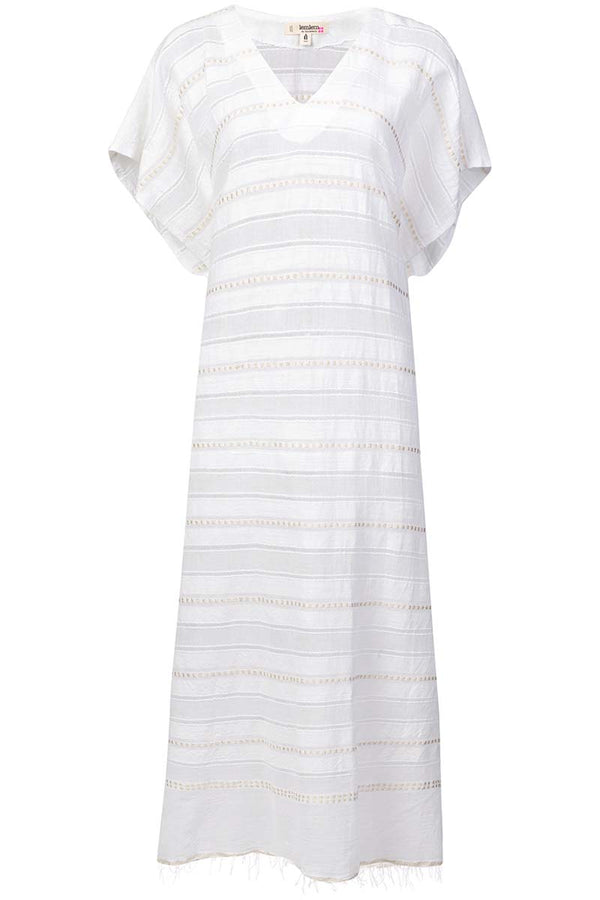 Lemlem Kelali V Neck Dress