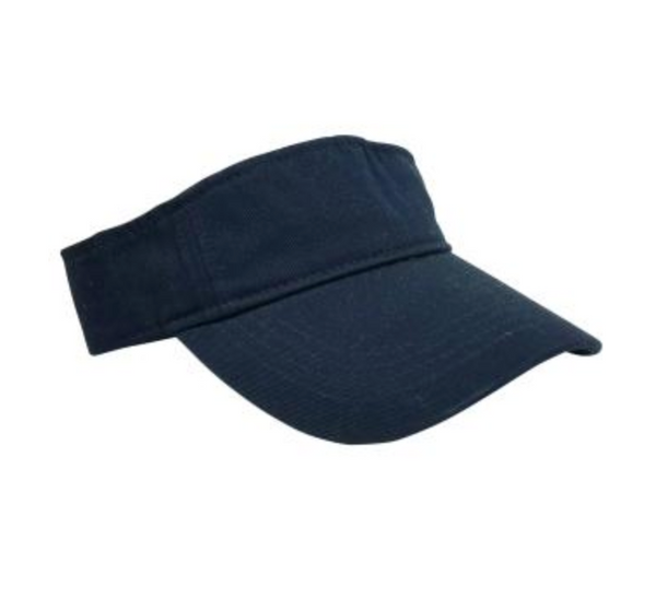 Hat Attack Canvas Visor Navy