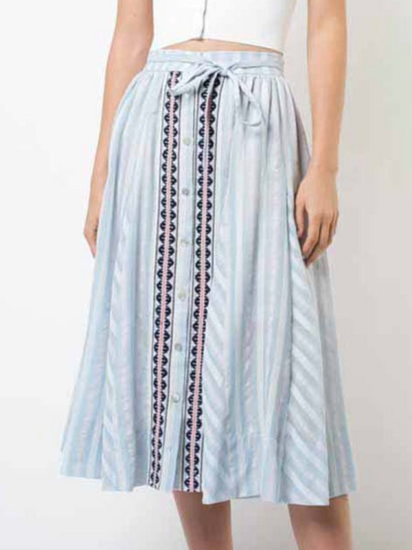 LEMLEM Nefasi Button Skirt