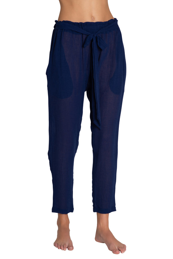 Eberjey Hudson Pants Shore Blue | BEACHKIND