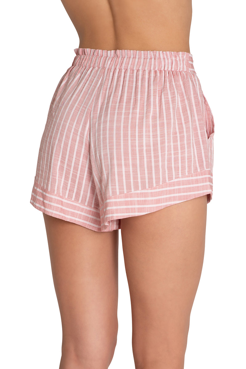 Eberjey Amalfi Shorts Faded Red