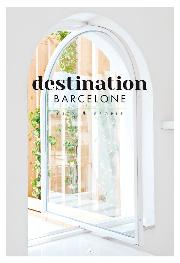 Destination Barcelone by Caroline Gomez