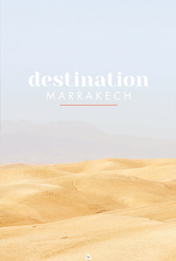Destination Marrakech by Caroline Gomez