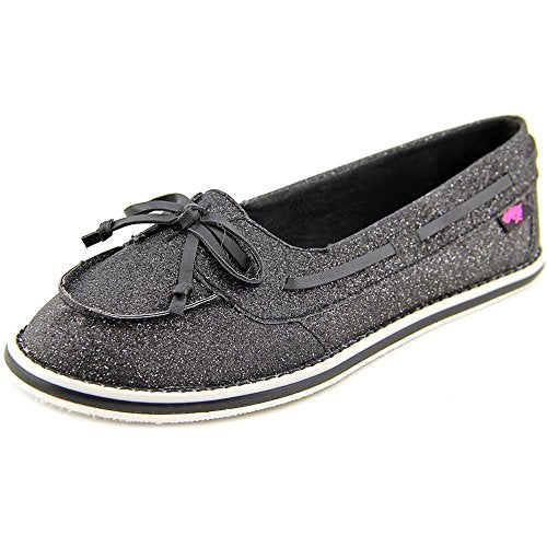 Rocket Dog Ranee Girls Youth Black Boat Shoe