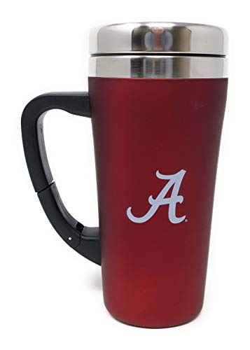 Alabama Roll Tide Red Stainless Steel Thermal Travel 16 Ounce Mug