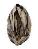 Women's Lightweight Silk Merino Wool Felted Circle Infinity Scarf with Gift Bag