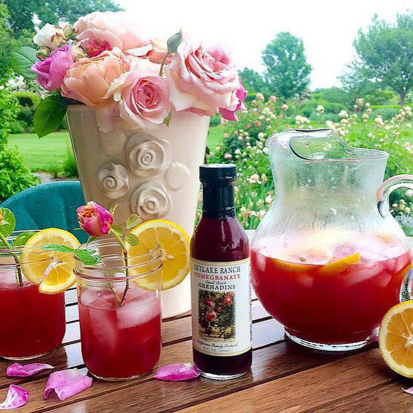 Pomegranate Shirley Temple Recipe