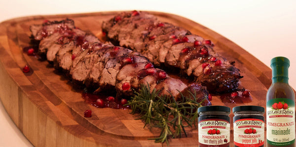 Spicy & Sweet Glazed Pork Tenderloins (Video)