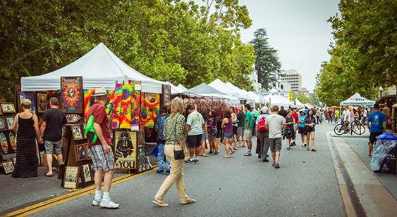 Mountain View Art and Wine this Weekend