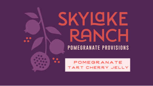 Pomegranate Tart Cherry Jelly