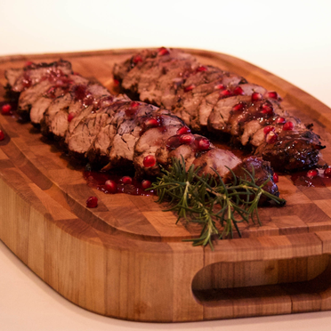 Brandy and Tart Cherry Pork Tenderloin