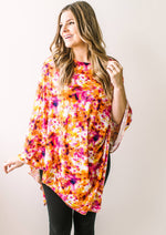 Summer Sunset nursing poncho