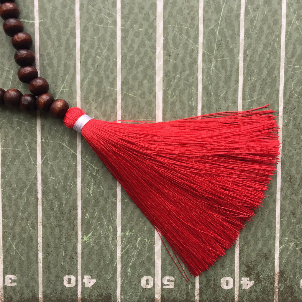 Red and White Gameday Necklace