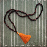 Orange and White Gameday Necklace