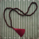 Garnet and Black Gameday Necklace