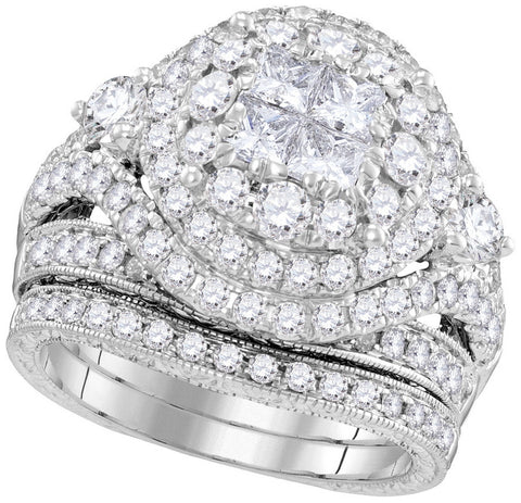 Bridal Set with 2.75 Carat TW  #100019100 - C Diamond King
