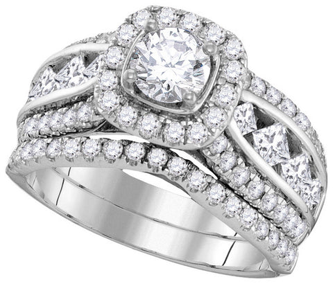 Bridal Set with 2.25 Carat TW  #106183100 - C Diamond King