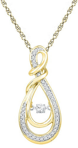 0.33CTW DIAMOND FASHION PENDANT #106999300 - C Diamond King