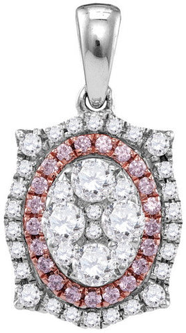 0.85CTW PINK DIAMOND FASHION PENDANT #109415300 - C Diamond King