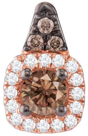 0.25CTW COGNAC DIAMOND FASHION PENDANT #110661300 - C Diamond King